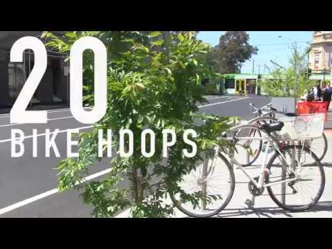 Dawson Street Brunswick streetscape improvements video