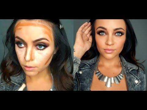 Contouring & Highlighting Using Drugstore Makeup