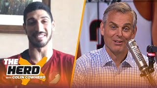 Enes Kanter on Damian Lillard's GW shot, playing with Westbrook and trash talking | NBA | THE HERD by Colin Cowherd