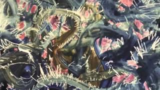 Nima Chehrazi: Tieh Kal (Bakhtiyari Music) Iran, Paintings Hanna Lappalainen