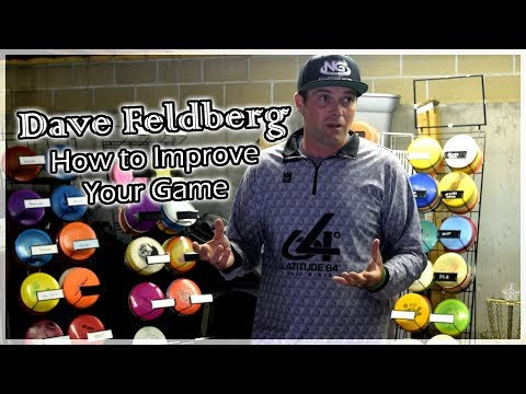 Dave Feldberg Disc Golf Clinic 2017 - Improve Your Game & Driving Tips -