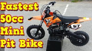 8. NRG50 50cc Proffesional Mini Dirt Bike 9hp Midi Size Dublin Ireland