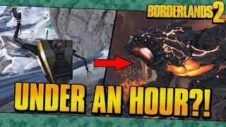 How Borderlands 2 Was Beaten In Under 1 Hour