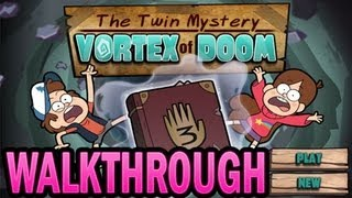 The Twin Mystery: Vortex of Doom Walkthrough [FULL] Levels 1-20 [All Stars]