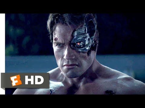 Terminator Genisys (2015) - Pops vs. the T-800 Scene (1/10) | Movieclips