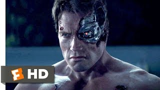 Terminator Genisys  2015    Pops Vs  The T 800 Scene  1 10    Movieclips