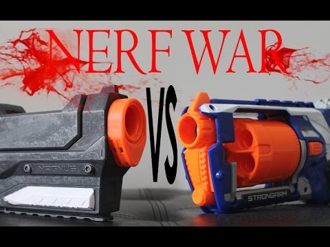 Nerf War: MAGNUS vs STRONGARM