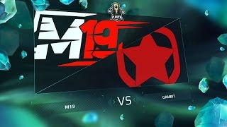 M19 vs GMB - Неделя 7 День 1 / LCL
