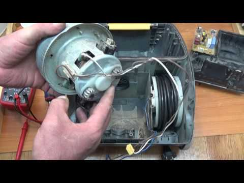 Ремонт пылесоса samsung двигателя