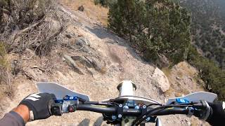 4. Lake Mountain single track Husqvarna 450 fx