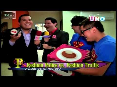 Fashion Police vs Fashion Trolis - Faranduleros - Vivos:  Nuevo canal: http://www.youtube.com/channel/UCY1ABLxz1l-WXTM-bj9yo0w