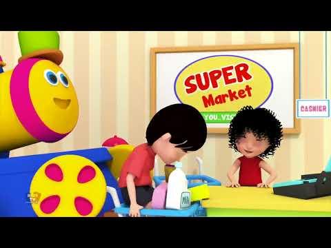 Bob le Train | Sons d'animaux pour enfants | Apprendre les animaux | Bob Animals Sound Song
