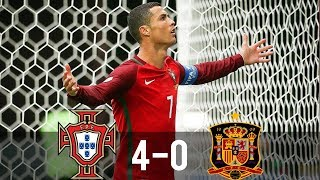 Video Portugal vs Spain 4-0 - All Goals & Extended Highlights - 17/11/2010 HD MP3, 3GP, MP4, WEBM, AVI, FLV Februari 2019
