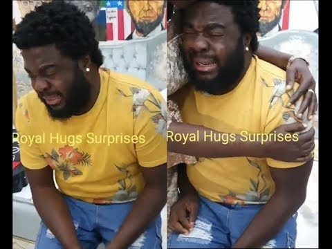 See Actor Aremu Afolayan Crying like a baby As His Friends &Family Surprise Him On His Birthday