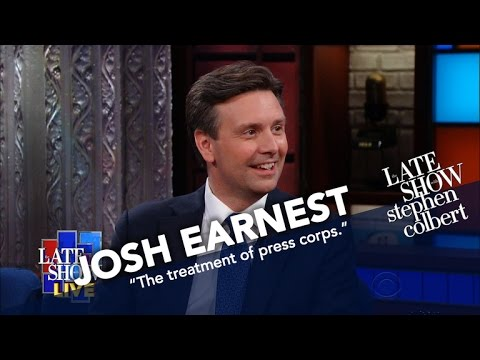 Former Press Secretary Josh Earnest Talks Sean Spicer And Fake News
