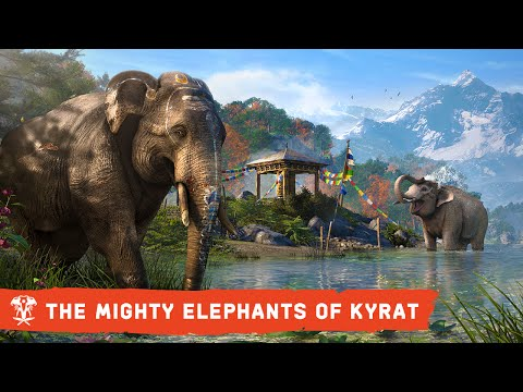 In the open world of Far Cry 4 the elephant can be a powerful weapon, a deadly enemy, or a rampaging vehicle. Find out what makes these massive animals the most impressive creatures in Kyrat..   Pre-order by July 15 at GameStop to get a FREE limited editi