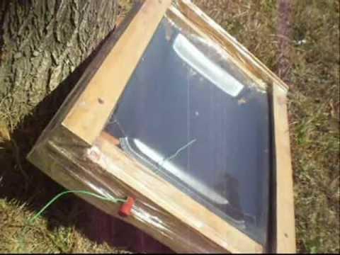 Ravni solarni grejac vazduha