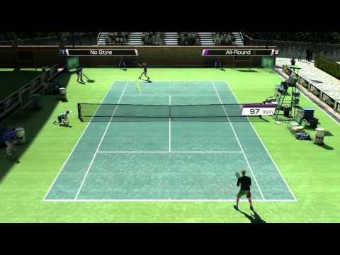"""Virtua Tennis 4 """"World Tour"""" trailer"""