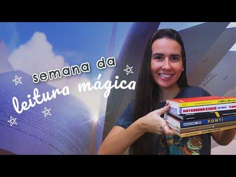 SEMANA DA LEITURA MÁGICA - 7 LIVROS EM 7 DIAS | Ana Carolina Wagner