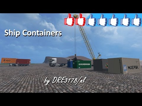 Shipcontainers v1.0 Beta