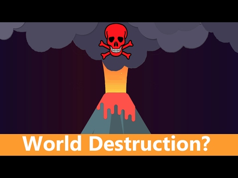 Can a Volcano Destroy the World