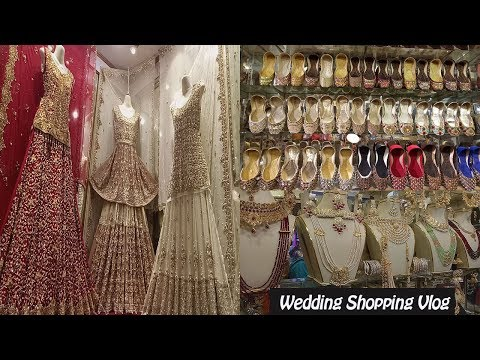 Pakistani Bridal Dresses | Wedding Shopping From Local Bazaar Feat. Anarkali