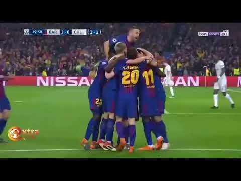 Барселона- Челси ОБЗОР МАТЧА(Barcelona vs Chelsea 3 0 )