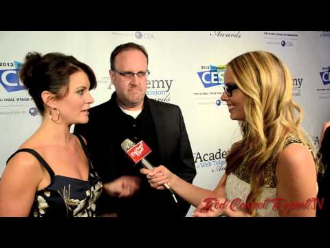 Taryn O'Neill - Mingle Media TV and Red Carpet Report host, Misty Kingma, were on hand as the official media crew for the 2nd Annual IAWTV Awards arrivals and winners circle...