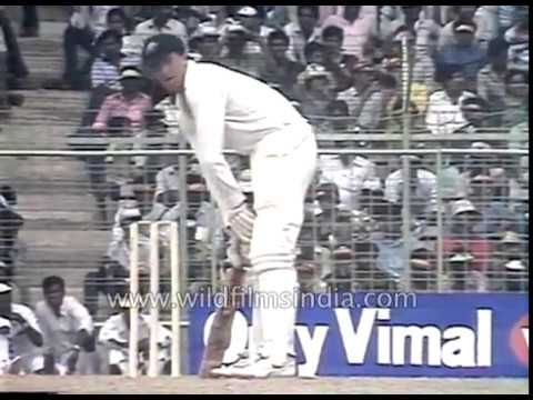 World Cup India vs Australia: Indian cricketers at Reliance Cup: archival from 90's