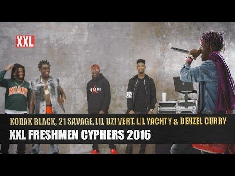 Video Kodak Black, 21 Savage, Lil Uzi Vert, Lil Yachty & Denzel Curry's 2016 XXL Freshmen Cypher download in MP3, 3GP, MP4, WEBM, AVI, FLV January 2017