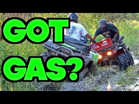 ATV Amigos Ride Muddy Trail To Plane Crash - July 20 2014