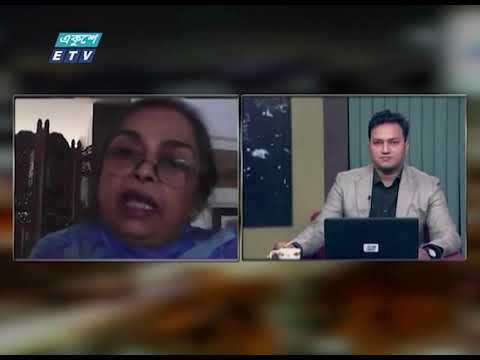 Ekusher Rat || করোনাকালে বন্যা || 24 August 2020 || ETV Talk Show
