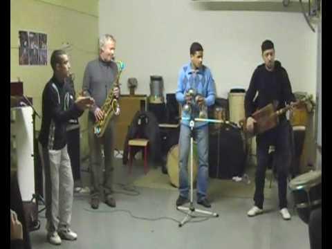Répétion des Gnawas de Bruxelles avec le talentueux Luc Mishalle
