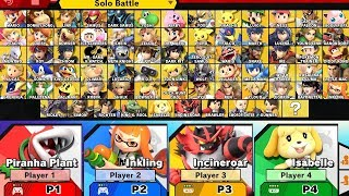 Super Smash Bros Ultimate - How to Unlock All Characters