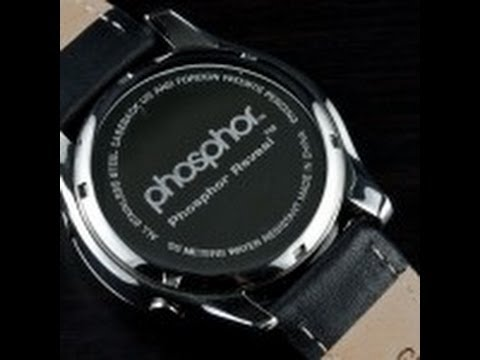 watchreport - Complete review of the Phosphor Appear by Watch Report. See the complete review with pics at http://www.watchreport.com/2011/04/phosphor-appear-review.html.