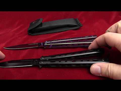Quandary Spectrum Balisong Butterfly Knife Spectrum