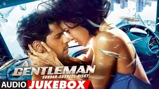 "T-Series presents all the full audio songs audio jukebox from the upcoming Bollywood Movie ""A Gentleman - Sundar, Susheel, Risky "" right here!  It is set to release on August 25, 2017.Get it on iTunes - http://bit.ly/a-gentleman-full-album-iTunesAlso, Stream it on,Hungama - http://bit.ly/a-gentleman-full-album-HungamaSaavn - http://bit.ly/a-gentleman-full-album-SaavnApple Music - http://bit.ly/a-gentleman-full-album-Apple-MusicGaana - http://bit.ly/a-gentleman-full-album-Gaana♪Tracklist♪1.Disco Disco►0:002. Baat Ban Jaye►2:473. Chandralekha►5:594. Laagi Na Choote ►9:105. Bandook Meri Laila► 12:04A Gentleman - Sundar, Susheel, Risky is a Fox Star Studios production starring Sidharth Malhotra and Jacqueline Fernandez and is written and directed by Raj & DK. It is set to release on August 25, 2017. The talented Sachin-Jigar are the music composers of this film.Song Credits:1. Song - Disco DiscoSingers - Benny Dayal & Shirley SetiaMusic - Sachin- JigarLyrics - VAYUArranged & Programmed by Sachin - JigarMusic Label - T-SeriesAdditional Details:Music Production Head - Romil VedLive instruments -Tumbi -Tapas RoyMix & Mastered - Eric Pillai ( Future Sound Of Bombay)Mix assistant engineers- Michael Edwin Pillai & LuckyMusic Video Director – Bosco MartisMusic Video Director of Photography – Sunil PatelMusic Video Production Designer – Dipankar Dasgupta2. Song: Baat Ban JayeSingers: Siddharth Basrur & Priya SaraiyaMusic: Sachin - JigarLyrics: Priya SaraiyaMusic Label: T-Series :::::Additional Song Details::::::Arranged & Programmed by Sachin-JigarMusic Production Head: Romil VedGuitars: Krishna PradhanMix & Mastered: Eric Pillai (Future Sound Of Bombay)Mix Assistant Engineers: Michael Edwin Pillai & Lucky3. Song  - Chandralekha Singers - Vishal Dadlani & Jonita GandhiMusic - Sachin- JigarLyrics - VayuMusic Label: T-Series :::::Additional Song Details::::::Arranged & Programmed By Sachin - JigarAdditional Programming & Saxophone - Shirish MalhotraMusic Production Head - Romil V"