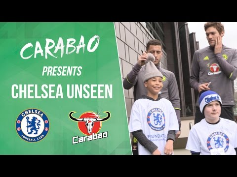 CHELSEA UNSEEN: Conte tackles Costa, incredible David Luiz volley and Kante finally messes up!