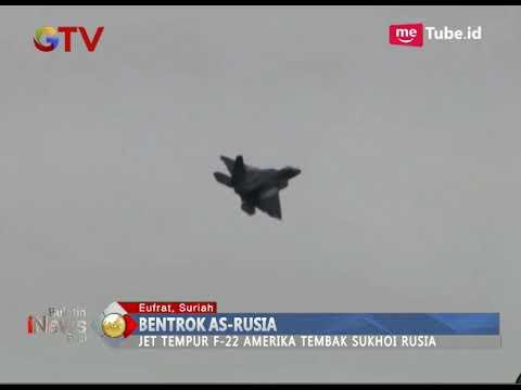 Download Video Bentrok AS-Rusia, Pesawat Tempur AS Tembakan Flare Ke Sukhoi Rusia - BIP 16/12