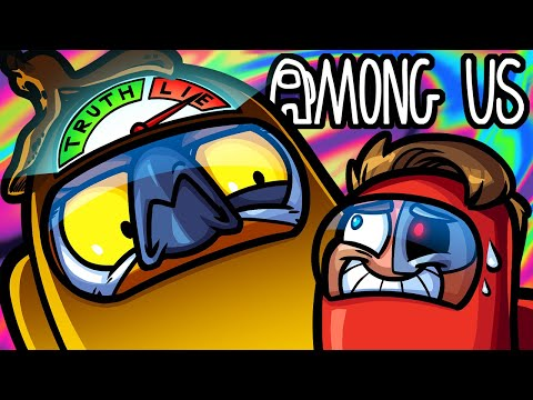 Among Us Funny Moments - I Know My Friends Too Well (Vanoss The Lie Detector)