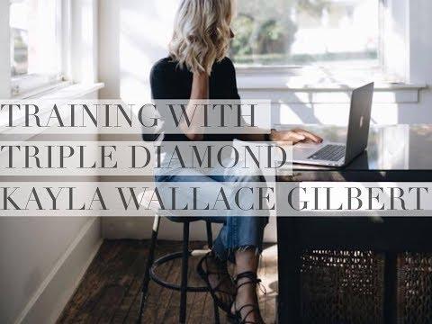 Training with Triple Diamond Kayla Gilbert