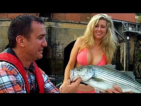 Girls First Fish – Fishing Georgia – Chattahoochee River – Morgan Falls Dam