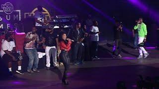 Meek Mill brings out Nicki Minaj at Summer Jam 2015