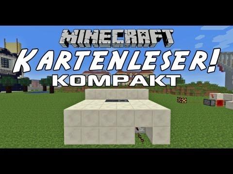Kompakter Kartenleser (5x4x2) in Minecraft! [1.8.x kompatibel] - Tutorial [HD]