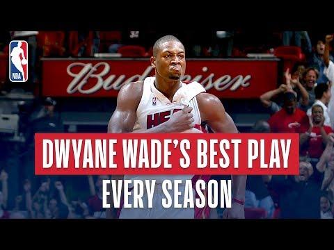 Video: Dwyane Wade's Best Play From Every Season