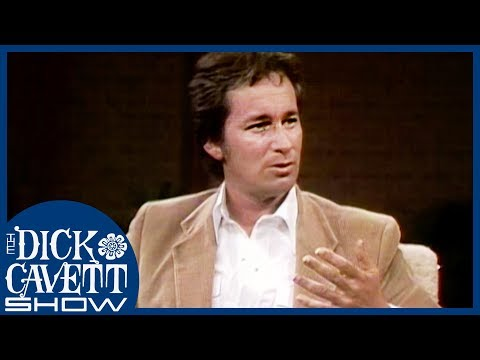 Steven Spielberg On The 'Jaws' Shark | The Dick Cavett Show