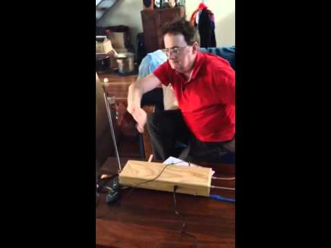 Brian plays my Theremin