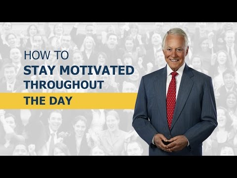 How to Stay Motivated Throughout the Day