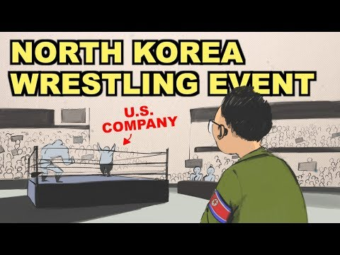 कैसे उत्तर कोरिया के इतिहास में सबसे बड़ी प्रो कुश्ती इवेंट का आयोजन किया