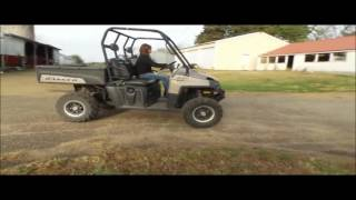 4. 2009 Polaris Ranger 700 XP Special Edition utility vehicle | no-reserve auction December 14, 2016